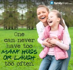 Why it's important to hug and talk to your children