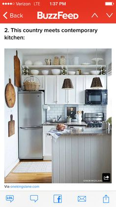 Small kitchen for tiny house