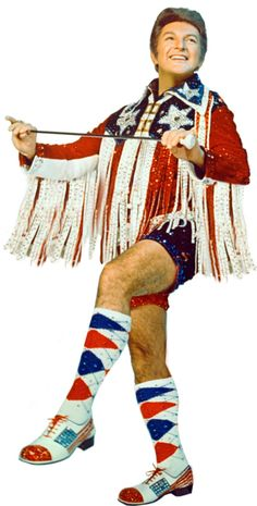 Liberace...I think even your name gave you the freedom to be  the unique person you were.