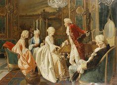Giuseppe Guidi (1884 - 1931) - The musical party