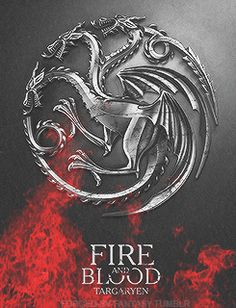 House Targaryen ~ Game of Thrones Fan Art (gif)