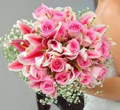 1000+ images about Bouquets on Pinterest | Lily bouquet, Peaches and ...