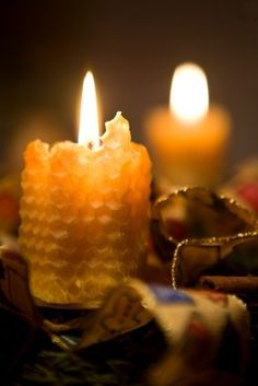 Stunning Beeswax candles