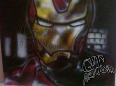 Iron Man Airbrush by GT Artland