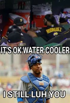 King of the water cooler!