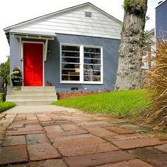 A red door always works!