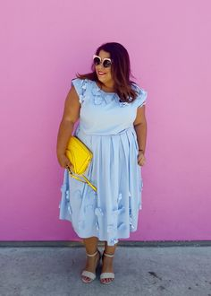 IG Wives Takeover Part 1 – The Pink Wall | Suits, Heels & Curves