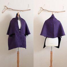 7efe3345d8 reversible eggplant black linen lotus motif bolero shawl ready to wear