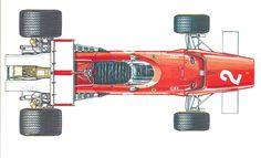 "Ferrari 312 B (1970) ""Jacky Ickx"" - alpha auto c.1974"