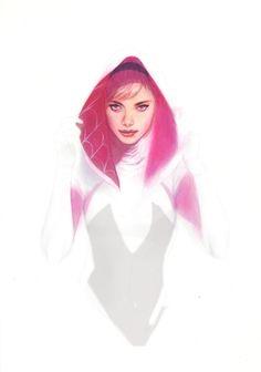 Ben Oliver Spider-Gwen Comic Art