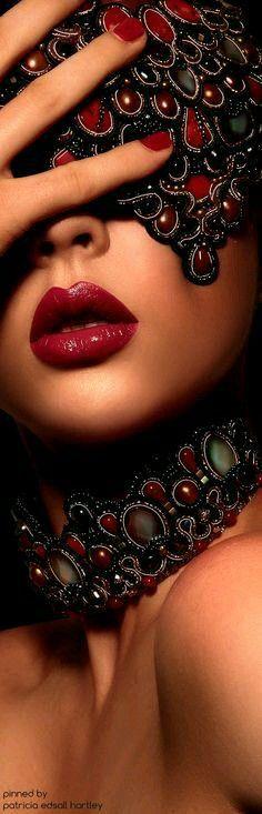 """""""le rouge glamour"""" rétrogirl"""