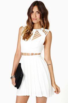 petite robe blanche :)