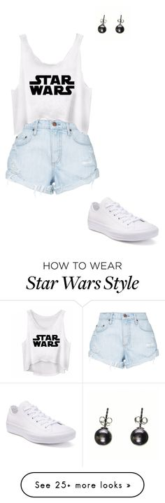 """Sans titre #1250"" by stalialightwood on Polyvore featuring Nobody Denim, Converse and Black"