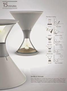A lâmpada dos 15 minutos (ou até conseguires adormecer) - Quantas Ideias Cabem numa Ideia? Criatividade, inovação, design, life & style, sustentabilidade.