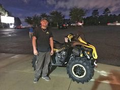 Congratulations to Charles Zuber from Chunchula, AL for purchasing a 2018 Can-Am Renegade Xmr 1000 at Hattiesburg Cycles. #canam