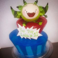 #yupyups !!! #Custom #cake for my cousin's son's #firstbirthday last week. #sweetcarnivalcakes by thecakecollective