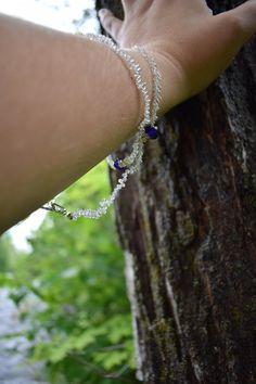 Wrap around seed bead bracelet by ShadowsJewelry on Etsy