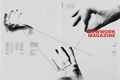 NEWWORK MAGAZINE, Issue 4 by STUDIO NEWWORK, via Behance