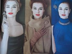 1950's Max Factor Ad Great Gloves!