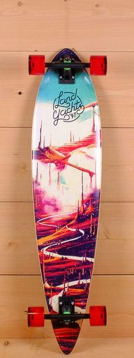 "The Landyachtz 44"" Bamboo Pinner by Landyachtz is designed for carving and cruising."