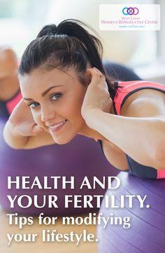 Modifying your lifestyle to optimize for fertility.