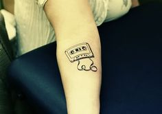 Cassette Tattoo Photo by Mighty_Boosh101 | Photobucket