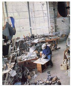 Alexander Calder - <3 the organized clutter