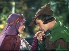 The Adventures of Robin Hood--Olivia deHavilland, Errol Flynn
