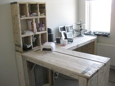 bureau van steigerhout