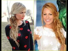 Blake Lively Braid Tutorial - Barefoot Blonde by Amber Fillerup Clark # dutch Braids barefoot blonde # dutch Braids barefoot blonde Trending Hairstyles, Boho Hairstyles, Hairstyles With Bangs, Blake Lively Braid, Overtone Hair, Side Braid Tutorial, Braids With Shaved Sides, Shaved Side Hairstyles, Barefoot Blonde