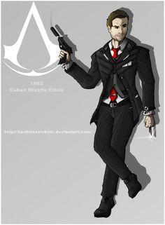 Assassin's Creed: Cold War secret agent by DarthDestruktor