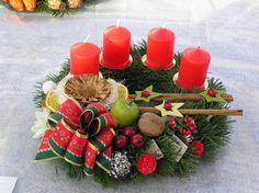 Vánoční vazba | Zahradnictví Útěchov » široký sortiment rostlin, služeb i zahradnického materiálu