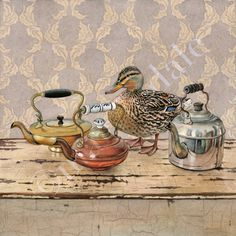 I'm a Little Teapot by Cori Lee Marvin $95 7x7 *Love this!*
