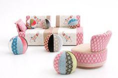 Sushi collection by Edward Van Vliet for Moroso, 2011