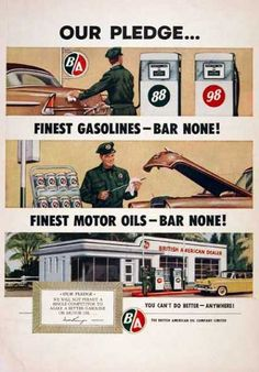 Remember they did it all, pumped the gas, washed the windows, checked the oil, and even tire pressure
