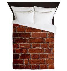 Red Brick Wall Duvet Cover : Designed By Jolene Sugarbaker The Trailer Park Queen