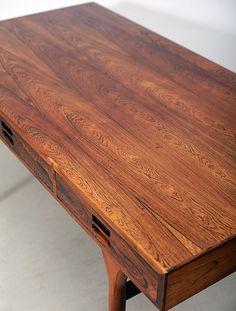 Nanna Ditzel –  #Rosewood  #Desk