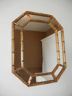 One of my favorite pieces is for sale again! via House Beautifulvia Emily A. Clark via Vanessa De VargasI love faabulous vintage furniture, and this t… Bamboo Mirror, Japanese Artwork, Mirrors For Sale, Bamboo Furniture, Faux Bamboo, Vintage Furniture, Home Goods, Unique Jewelry, Entry Hall