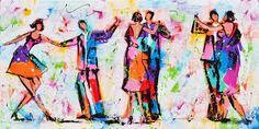 Afbeeldingsresultaat voor schilderijen dansen