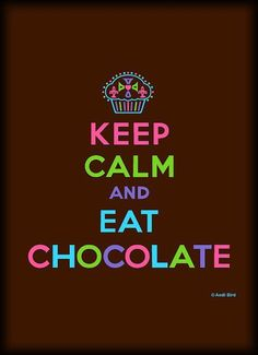 @Heather Creswell Creswell Sullivan Why when I read this I thought of you?? haha Chocolate <33 :)