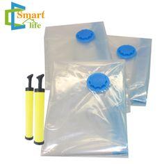 Vacuun Storage Bag With Pump