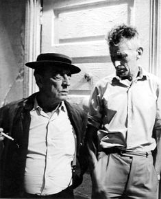 """Buster Keaton meets Samuel Beckett; they made """"film"""" together. [We would love to show this film at the Irreal Cafe, if there were an Irreal Cafe.]"""