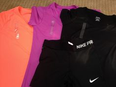 new workout clothes | Nike Pro Workout Clothes | Fitness Apparel #nike #fitness #running @ http://www.FitnessApparelExpress.com