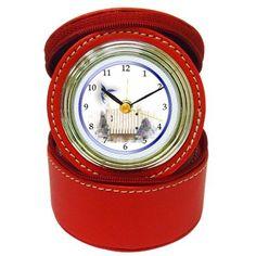 Amazon.com: Hummingbird Design Red Jewelry Case Clock 23618530: #Jewelry