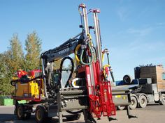 LD240 Drilling Rig, Rigs, Wedges