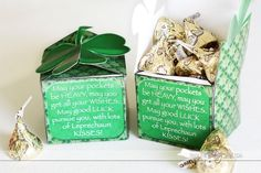 Really Cute St. Patricks Day printable box for the one you love. SO simple.