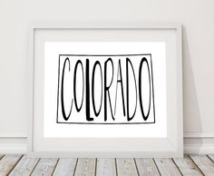 personalized baby shower gifts from beautiful arabia colorado state print 8 x 10 digital download home state love wall decor sign state pride printable wall art home state sign gift negle Gallery