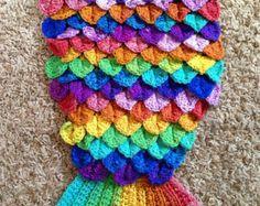 Crochet Mermaid Fin Pattern   Mermaid Fin Cocoon with Scales