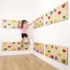 Indoor Traverse Wall Panels-I know a certain kid who needs this
