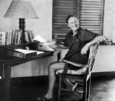 Ian Fleming wrote all 14 Bond novels at this desk in Jamaica.